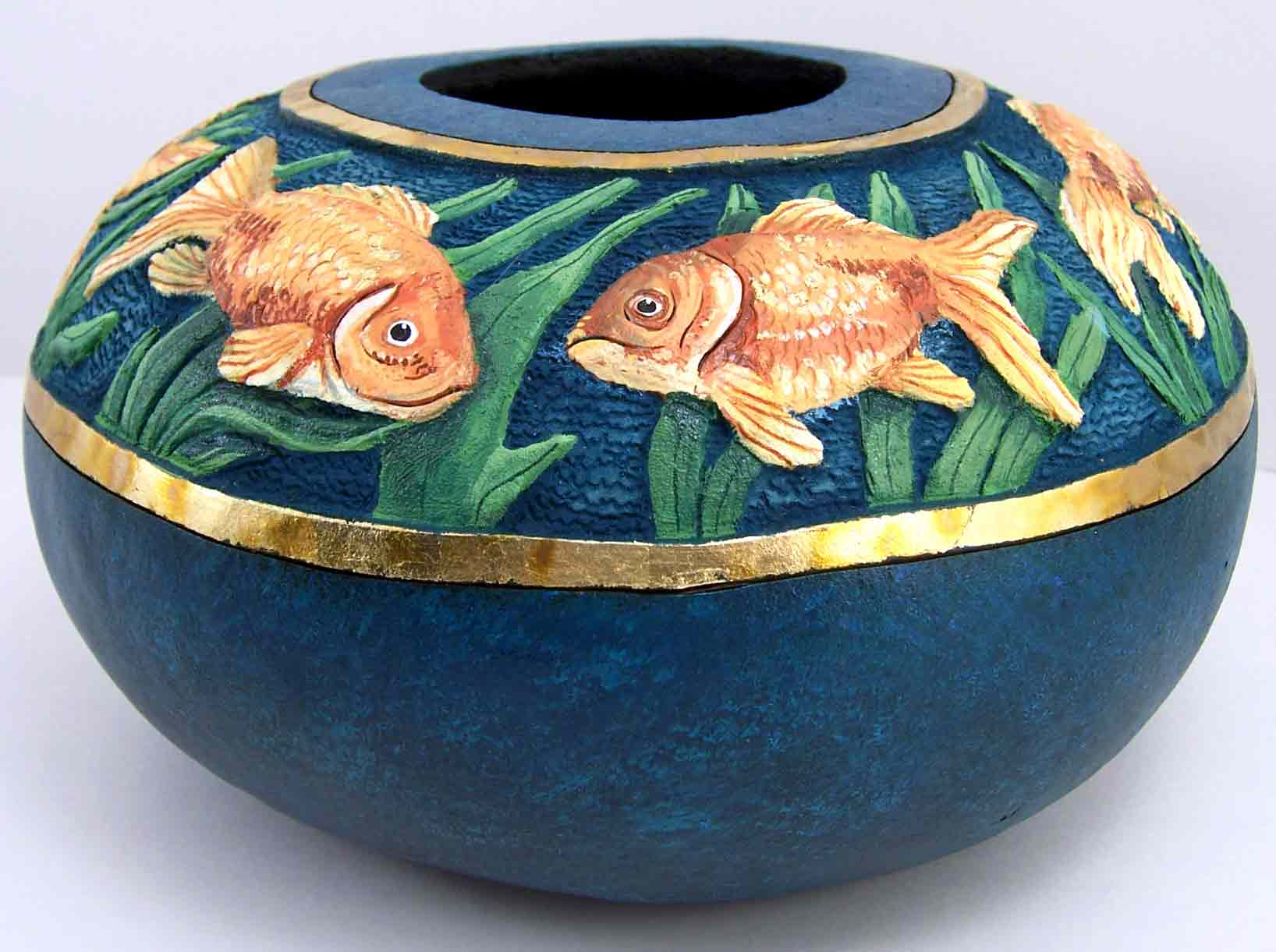 >>>>> Figuras en papel mache .... Goldfish25-Edited-WEB