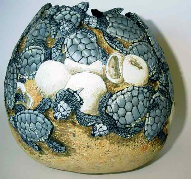 >>>>> Figuras en papel mache .... Baby-Turtles22WEB