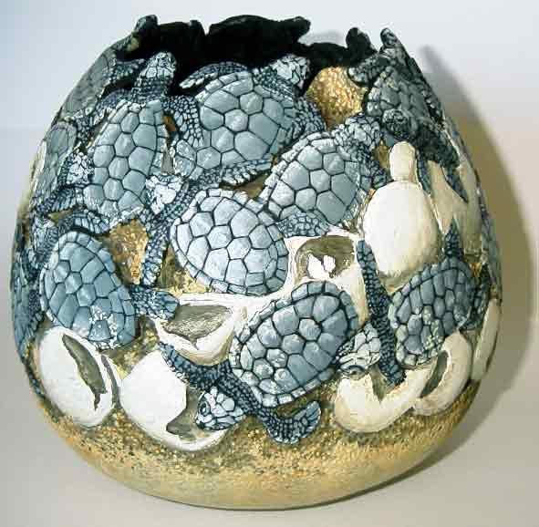 >>>>> Figuras en papel mache .... Baby-Turtles23WEB