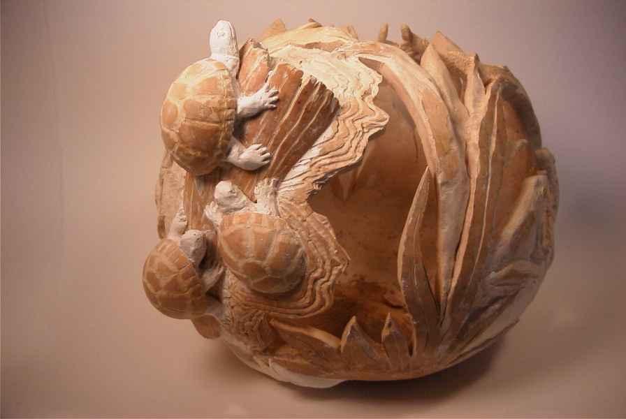 >>>>> Figuras en papel mache .... Best_turtles26