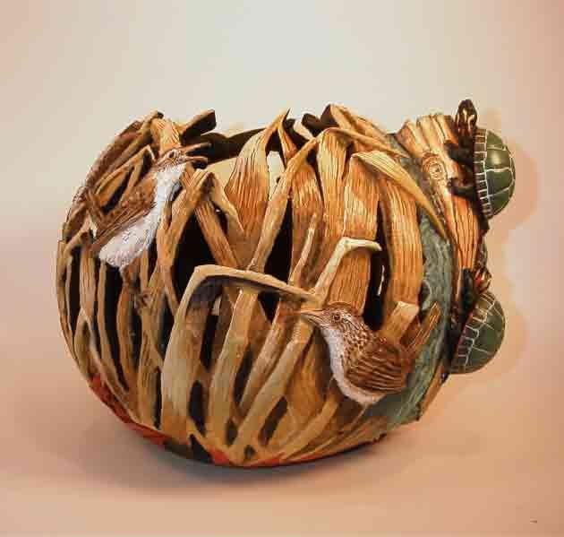 >>>>> Figuras en papel mache .... Turtle-birds3-Web